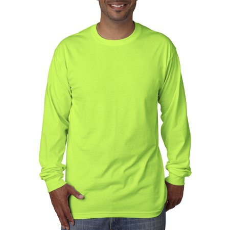 A Product of Bayside Adult Long-Sleeve T-Shirt - LIME - XL [Saving and Discount on bulk, Code Christo]