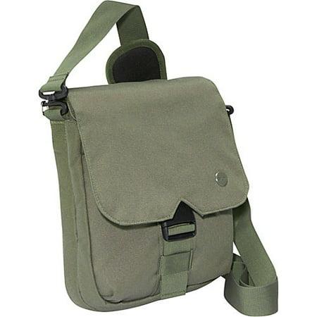 STM scout 2 - Shoulder bag for tablet - canvas - olive - for Apple iPad (3rd generation); iPad 1; 2