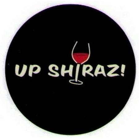 Up Shiraz! Wine Grimm Button (Pork Shiraz Wine)