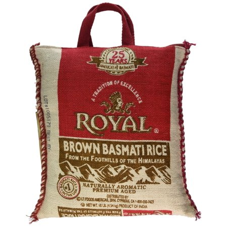 Royal Brown Basmati Rice, 10 Lb - $3/lb