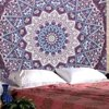Asewin Indian Mandala Tapestry Hippie Wall Hanging Bohemian Bedspread Dorm Decor 57''x57''
