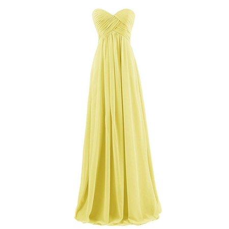9124fff4e6f4 Leadingstar - Sweetheart Chiffon Party Prom Bridesmaid Dress Long Evening  Gown - Walmart.com