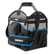 HART 12-inch Tool Tote with Rotating Handle