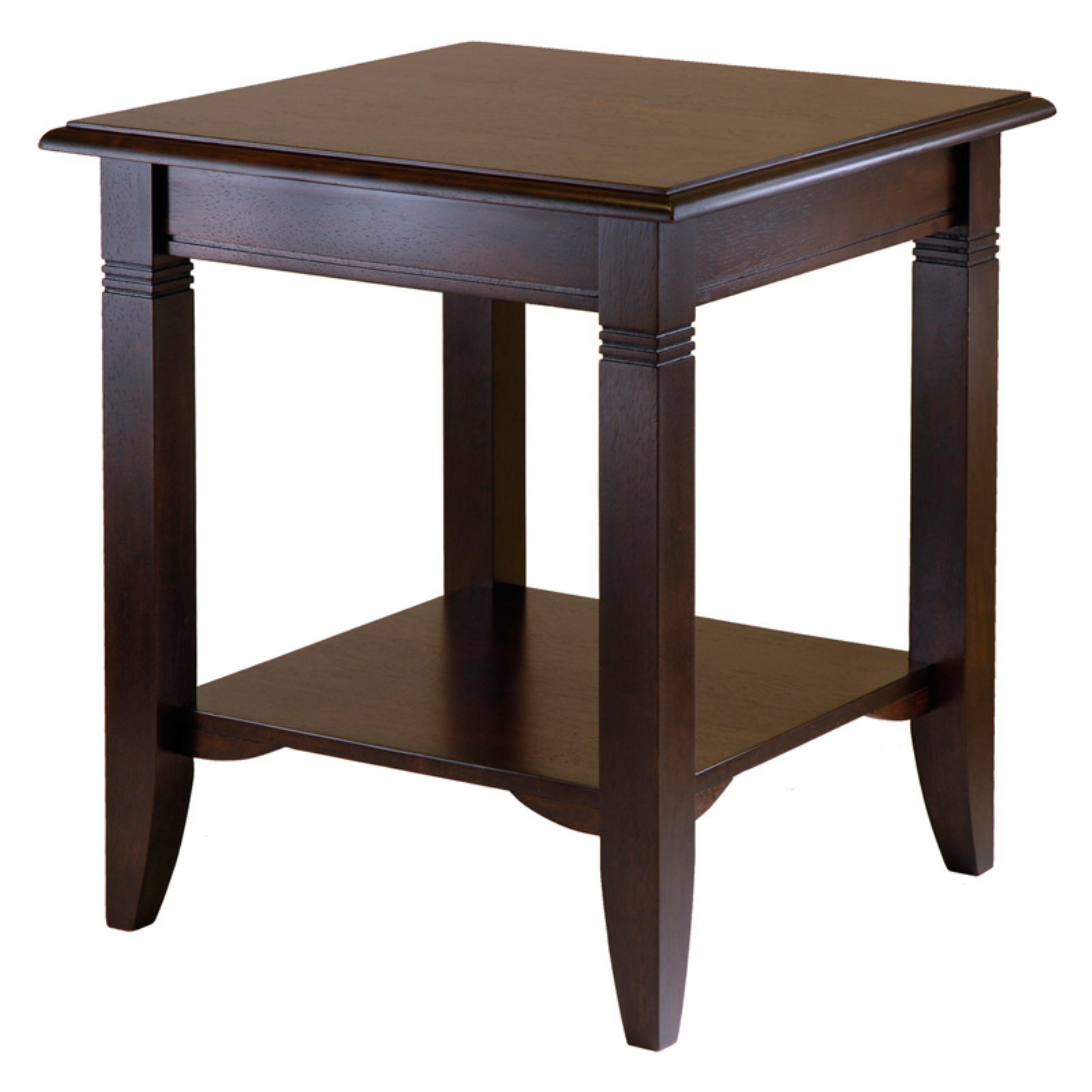 Nolan Coffee Table & End Tables Value Bundle Cappuccino Walmart