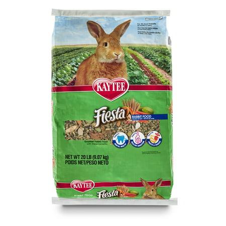 Kaytee Fiesta Rabbit Food 20 Pounds (Kaytee Fiesta Chinchilla Food)