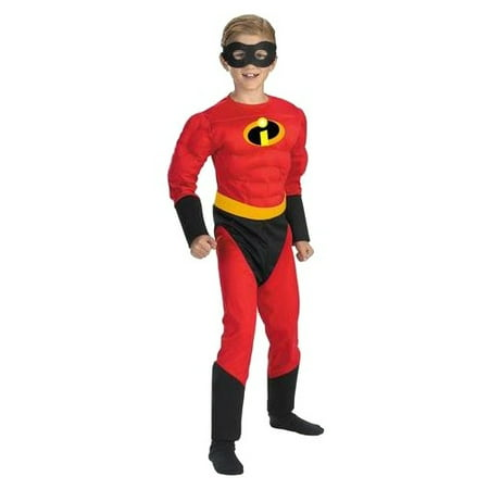 Mr Incredible Costume Child (Mr. Incredible Muscle Child Halloween)