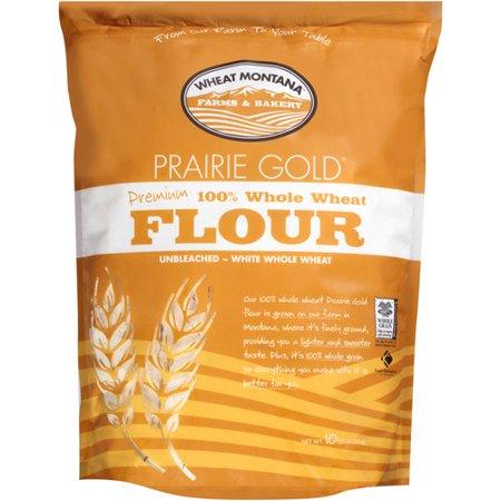 Wheat Montana Farm & Bakery Prairie Gold, 100% Whole Wheat Flour, 10 lbs