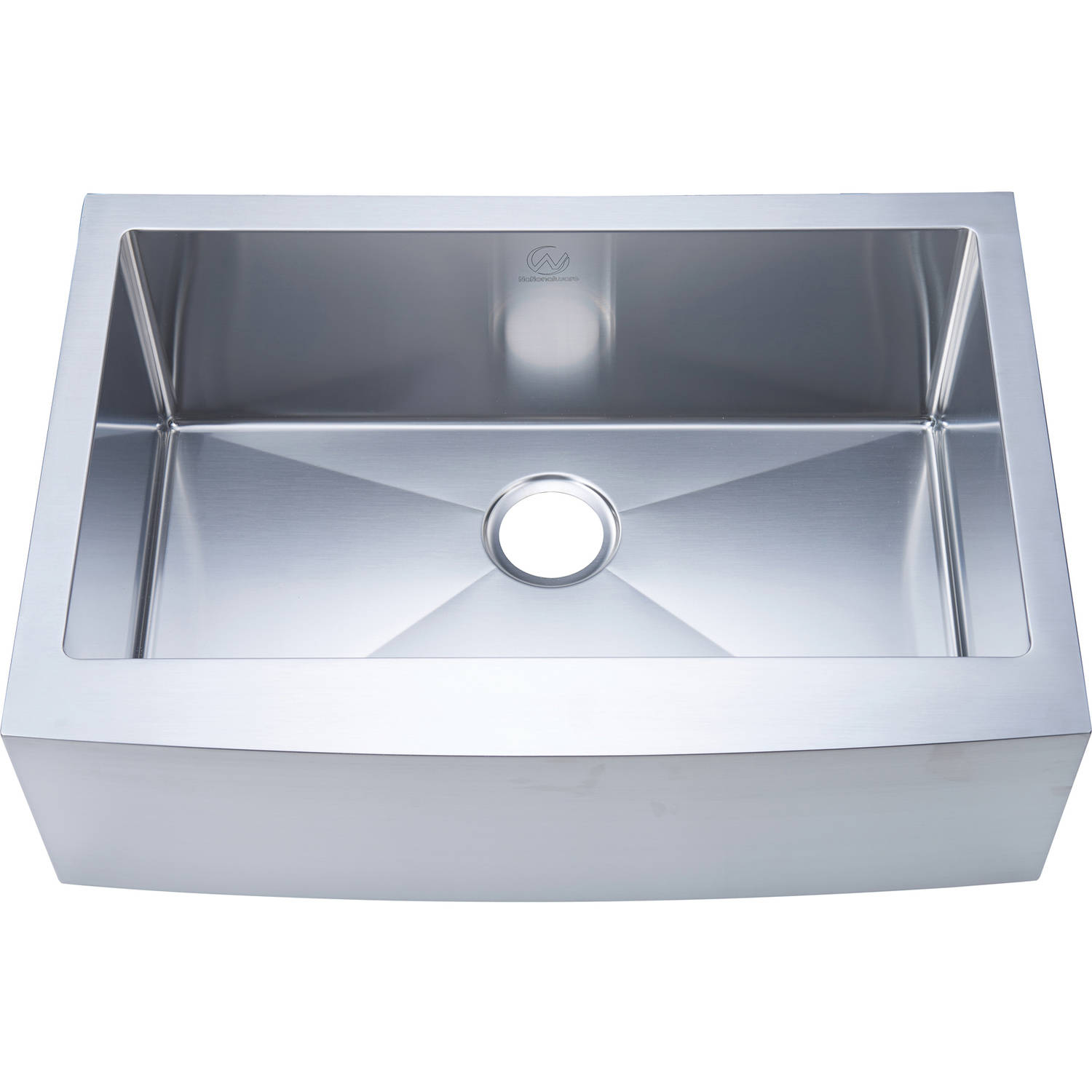 Jan S Kitchen Sink: Nationalware 16-gauge Stainless Steel 30-inch Single Basin