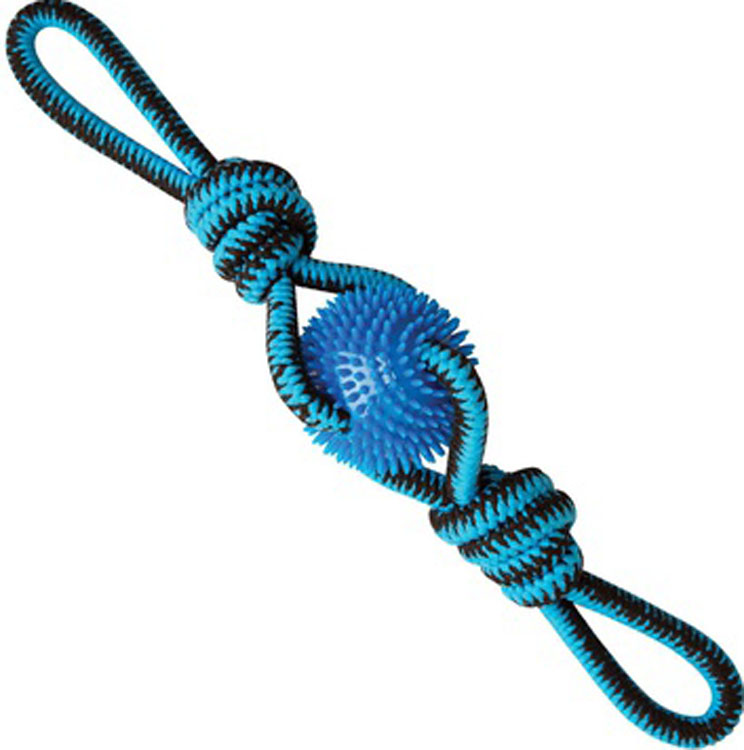 Snugarooz-Snugz Spikey Beast Rope Tug- Assorted 24 Inch
