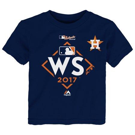 Houston Astros Majestic Toddler 2017 World Series Bound T-Shirt - Navy - - Houston Halloween 2017