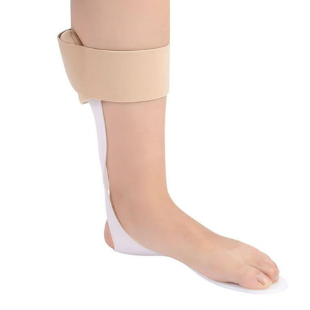 Knifun Foot Drop Orthosis Corrector Ankle Brace Splint Adjustable Rigid Stabilizer for Sprains, Strains, Heel Spur, Foot Pain, Achilles Inflammation, Post-Op Cast Support and Injury