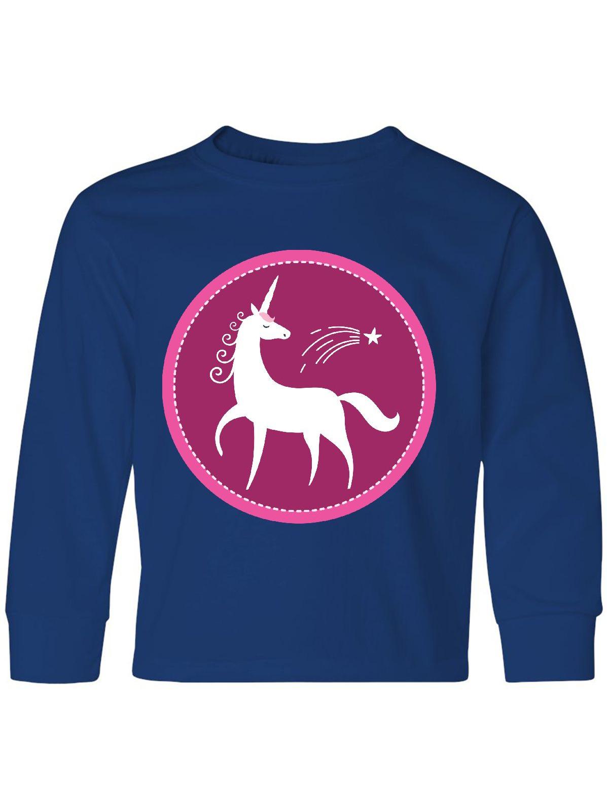 Unicorn Girls Gift Idea Youth Long Sleeve T-Shirt