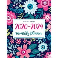 Daily Weekly Monthly Planners with Holidays: 2020-2024 Planner: Five Years 60 Months Calendar Monthly Planner Schedule Organizer For To Do List Academic Schedule Agenda Logbook Or Student Teacher Orga