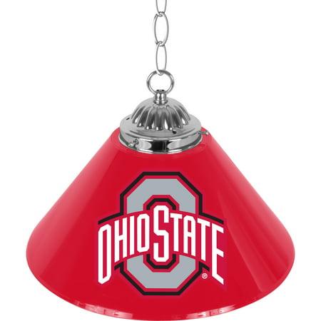 NCAA The Ohio State University 14 Inch Single Shade Bar Lamp