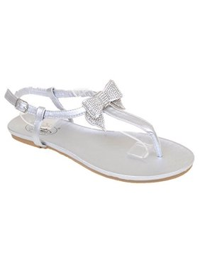 300d026df09 Product Image Diamond Bows Flat Flip Flop Thong Women Vegan Sandals. Fourever  Funky