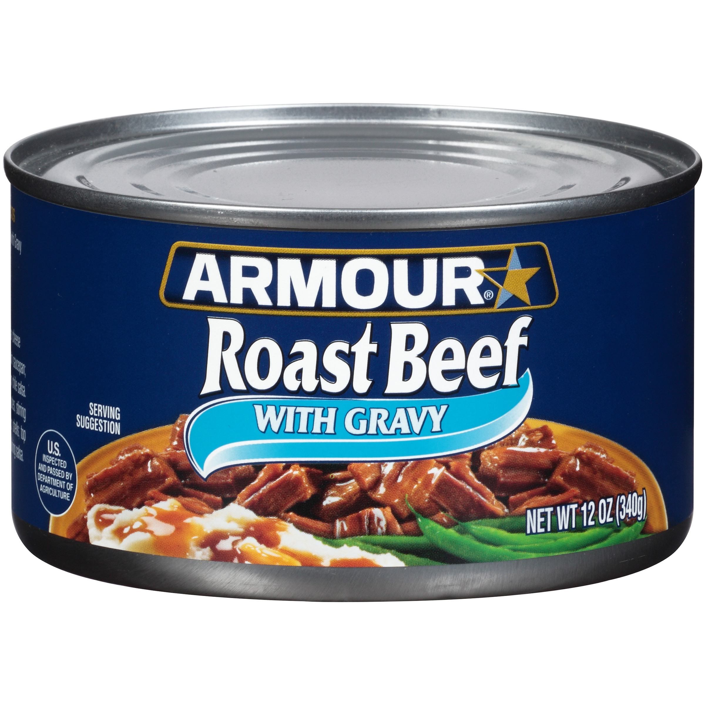 Armour Roast Beef with Gravy 12 oz. Can by PINNACLE FOODS GROUP LLC