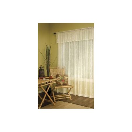 Heritage Lace Pineapple Valance with Trim, 45 by 15', (Heritage Lace Pineapple)