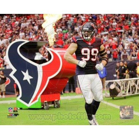 JJ Watt 2014 Action Sports Photo - Jj Watts Halloween