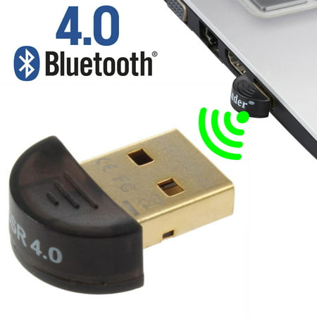 EEEKit USB Mini Bluetooth 4.0 CSR4.0 Adapter Dongle Wireless Receiver For PC Laptop Support Windows 10/8.1/7/Vista/XP, Mouse and Keyboard,