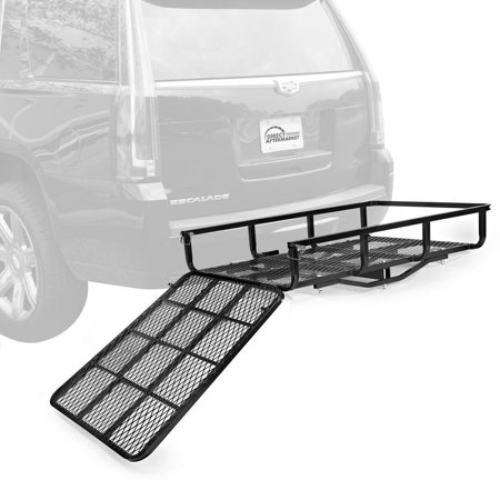 Electric Wheelchair Scooter Mobility Carrier Rack for Disability Medical Ramp - Black (Chair Carrier)
