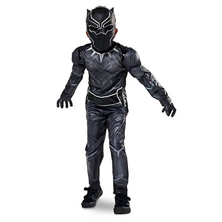 Disney Store Black Panther Halloween Costume Size Large 9 - 10 Civil War Marvel - Halloween Store Memphis
