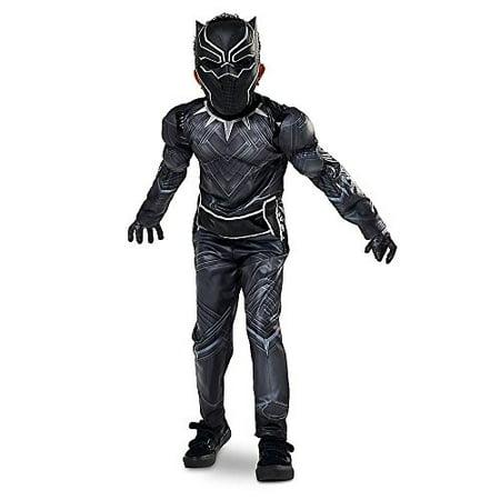 Disney Store Black Panther Halloween Costume Size Large 9 - 10 Civil War Marvel (Halloween Store Burlington)