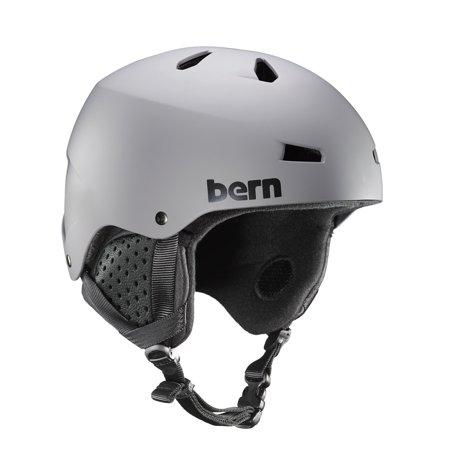 Bern Black Summer Helmet - Bern - Summer Team Macon EPS Helmet Matte Grey/Black Liner Large
