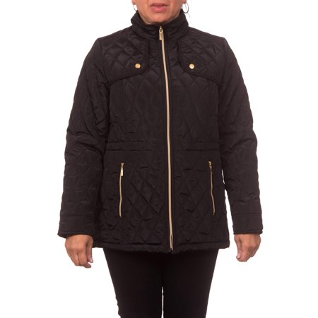 Women's Midweight Hooded A-Line Jacket