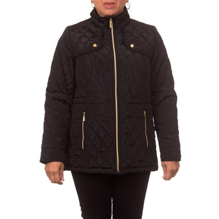 - Women's Midweight Hooded A-Line Jacket