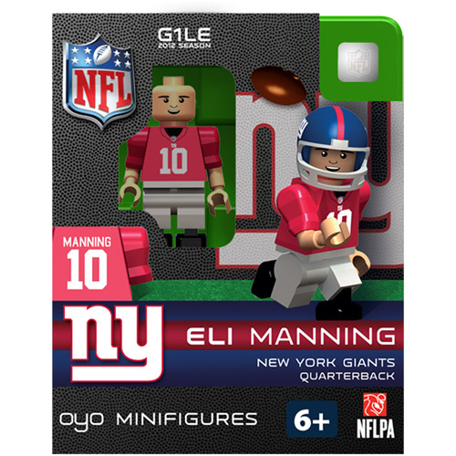 OYO NFL 2013 Giants Eli Manning Mini Action Figure