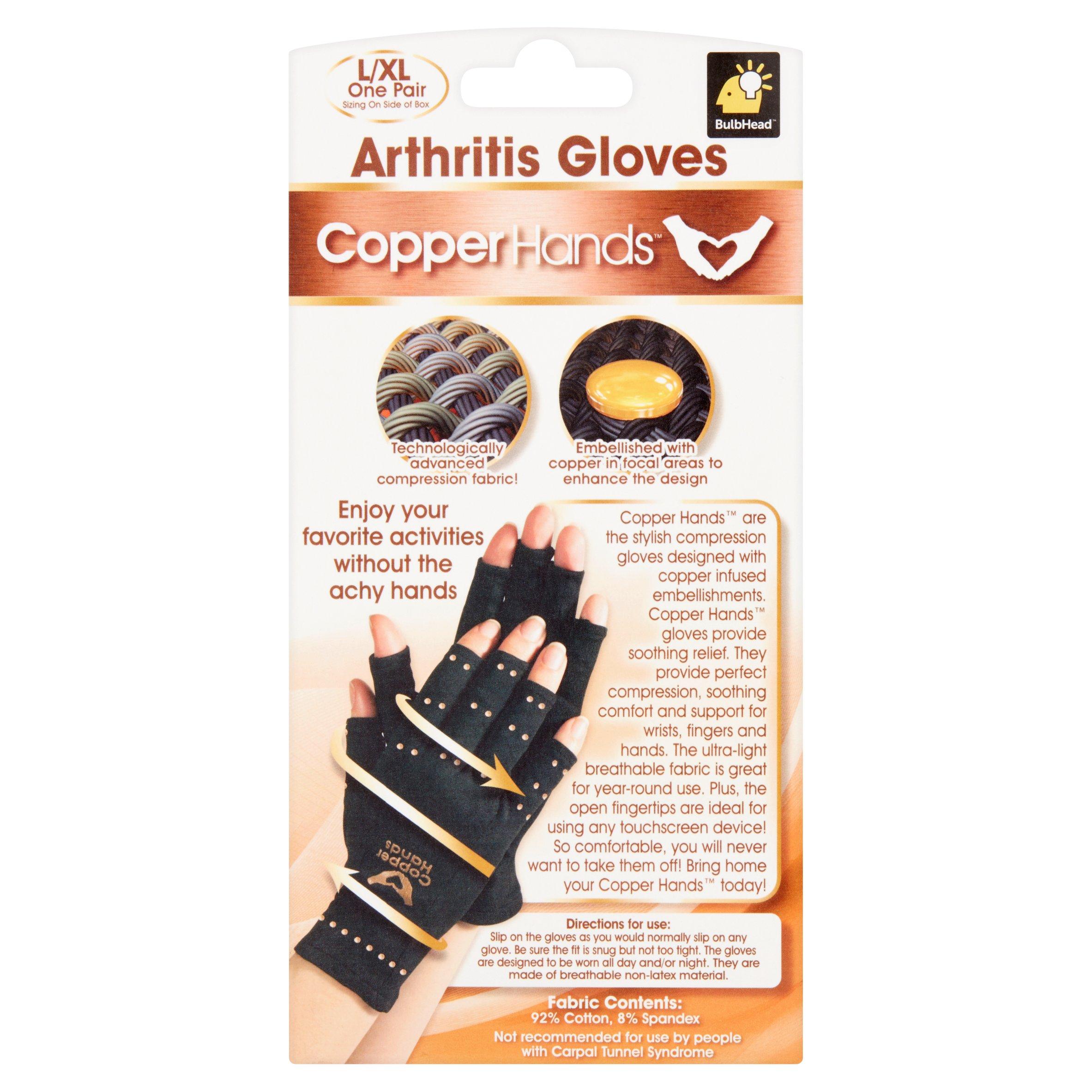 eccb092961 Copper Hands Compression Gloves