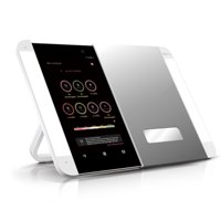 ($178 Value) HiMirror Slide Smart Makeup Mirror with LED Light, Skin Analyzer, & Video and Music Streaming