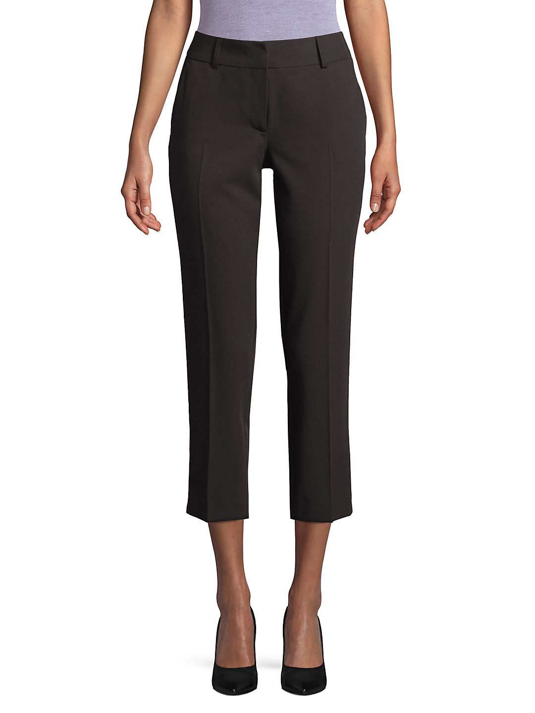 Cropped Ankle Trousers