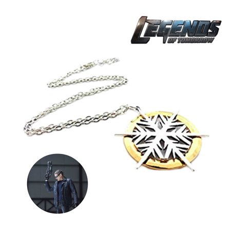 DC Comics Legends of Tomorrow Necklace Pendant- Captain Cold - Movies TV Series Cosplay Jewelry by Superheroes