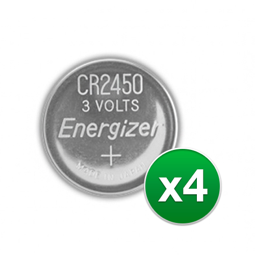 Replacement Battery for Energizer CR2450VP 2Pack (4-Pack) Replacement Battery by Energizer