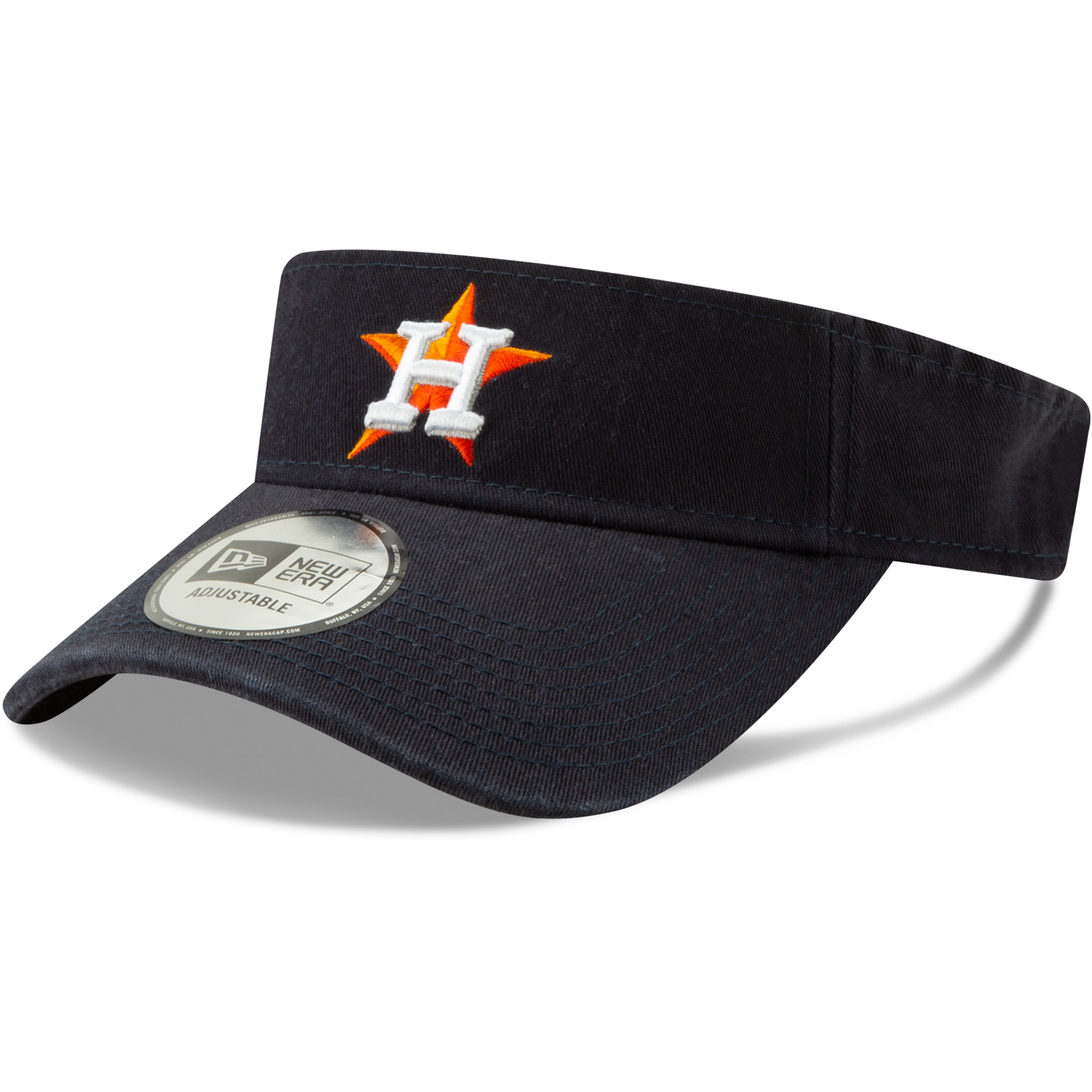 Houston Astros New Era Dugout Redux 2 Visor - Navy - OSFA