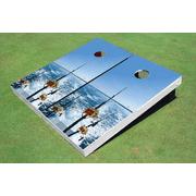 Gone Fishing Themed Cornhole Boards