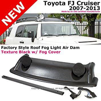 2007 to 2013 Toyota Fj Cruiser 07-13 Factory Style Roof Rack Fog Light Air Dam