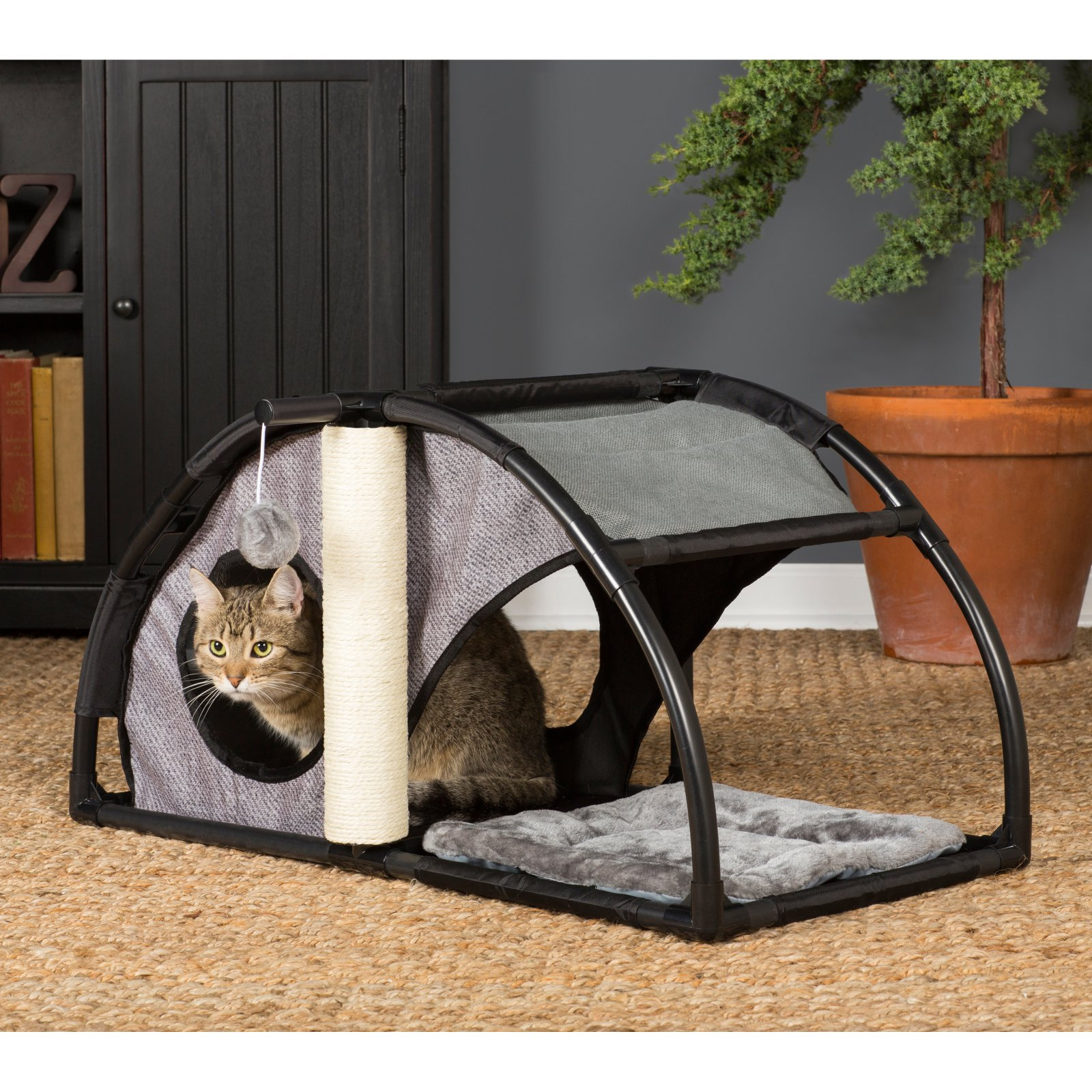 Prevue Pet Products Catville Condo, Grey