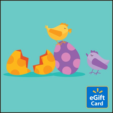 Easter Eggs Walmart eGift Card