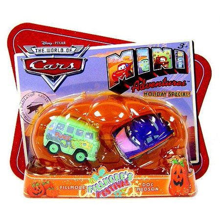 Doc Hudson Accessories - Fillmore's Festival Plastic Car 2-Pack Fillmore & Doc Hudson
