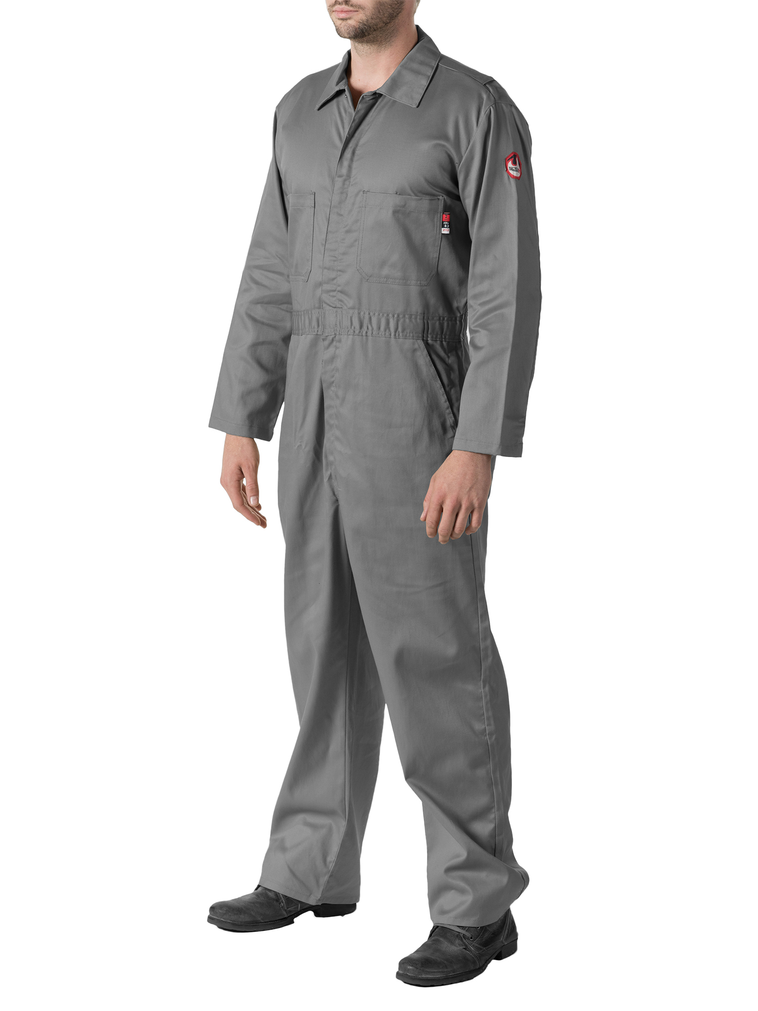 Men's Flame Resistant Contractor Coverall, HRC Level 2