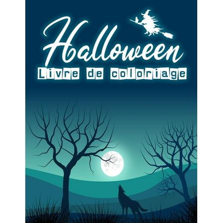 Photo Halloween Pour Blog (Halloween Livre de coloriage: Livre de coloriage Halloween pour enfants Jolies dessins amusants ? colorier 60 pages 8,5 x)