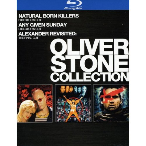 Oliver Stone Collection: Natural Born Killers / Any Given Sunday / Alexander Revisited (Blu-ray)     (Widescreen)