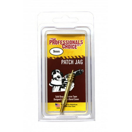 The Professionals Choice 9 mm Pistol Patch Jag