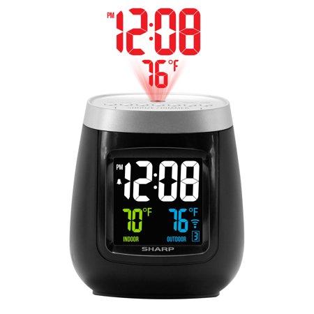 Sharp Projection Tmp Clock