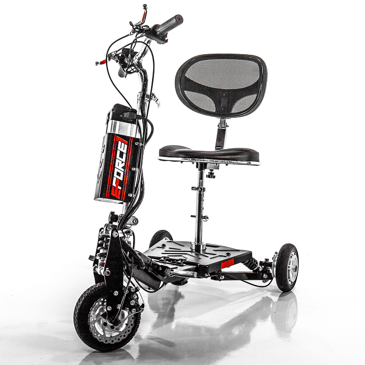 EWheels EForce-1 Fast Electric Scooter Lithium Power Speed 12 mph EW07, EForce-1 by E-Wheels