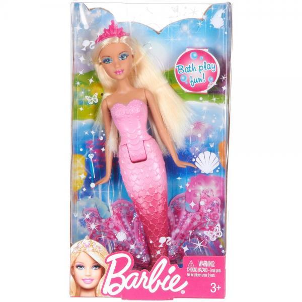 Barbie Blonde Mermaid Doll