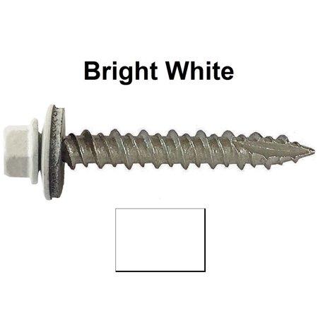 Metal ROOFING SCREWS: (1000) 10 x 1-1/2