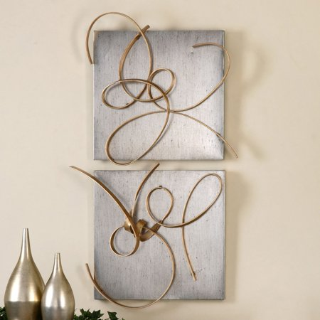 Uttermost Harmony Metal Wall Art - Set of 2 - Walmart.com